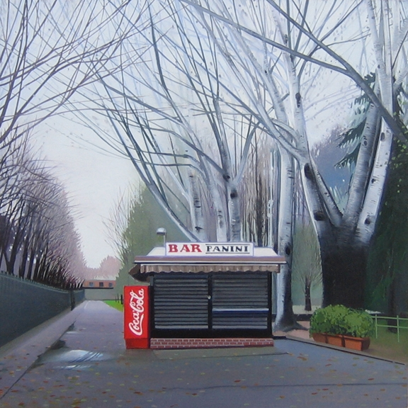 Bar Panini II, oil on panel 12inX12in 2008 N/A