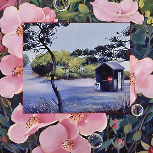 Cape Cod Rose, oil on panel 10inX10in 2005 N/A
