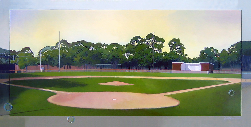 Eldridge Field, oil on canvas 24inX48in 2006 N/A