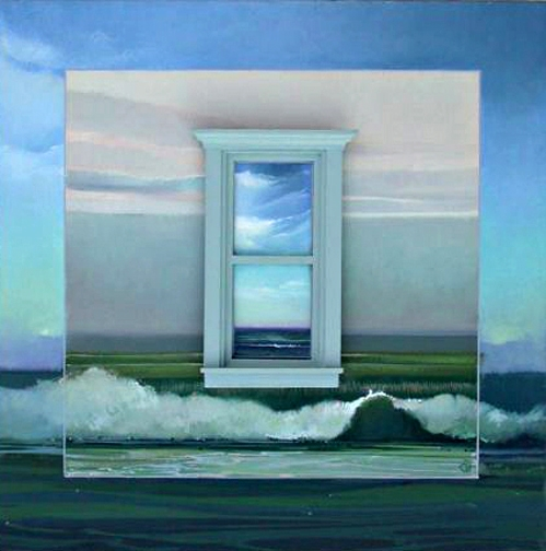 Ocean View, oil on panel 2005 N/A