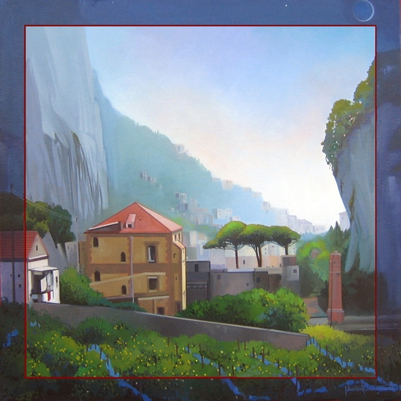 Amalfi, oil on canvas 24inX24in 2010 N/A