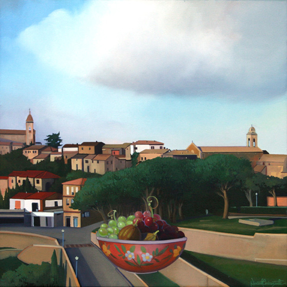 Montalcino, oil on canvas 24inX24in 2010 N/A