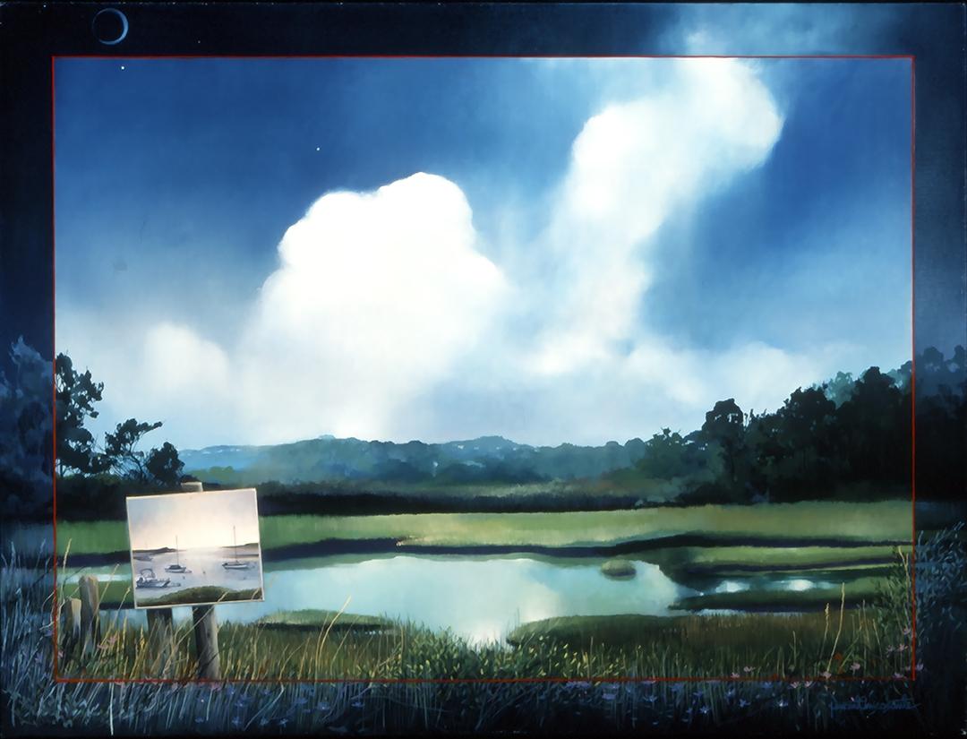 Truro Marsh, oil on canvas 30inX40in